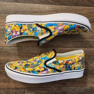 Vans x The Simpsons Springfield Slip On
